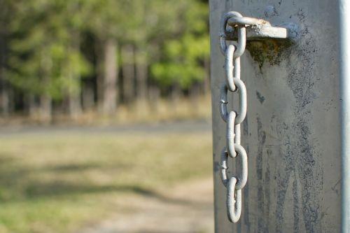 chain links post