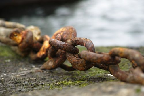 chain rusty old
