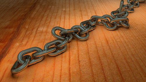 chain metal chain link