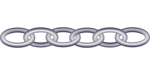 chain links plastic