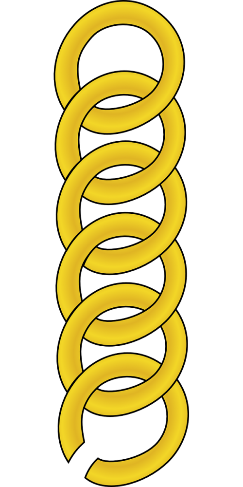 chain links gold