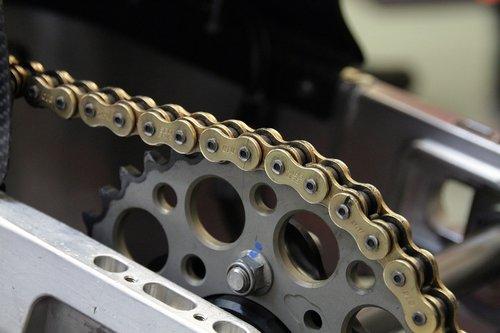chain  motorcycle  metal