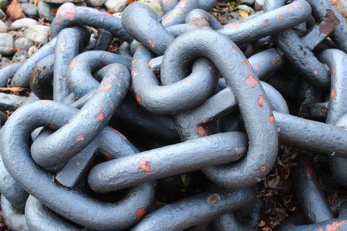 chain anchor chain metal