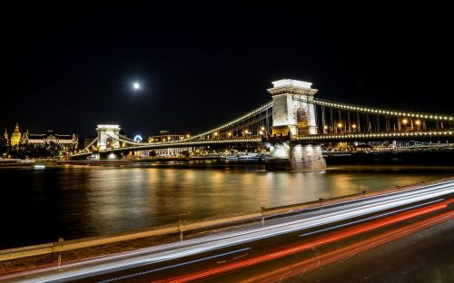 chain bridge budapest bridge