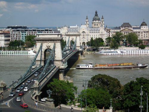 chain bridge budapest hungary bridges in budapest