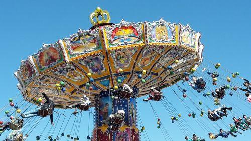 chain carousel oktoberfest spring festival