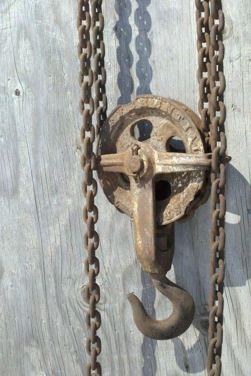 chain hoist chain pulley