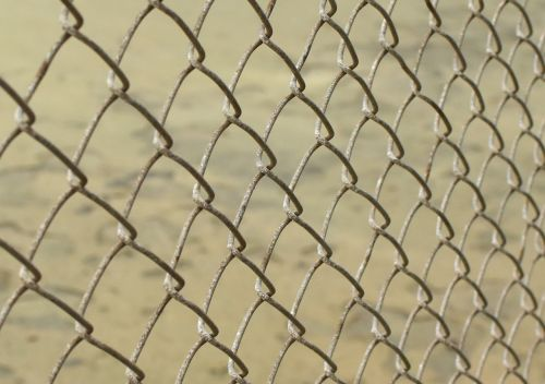 chain link metal fence chain
