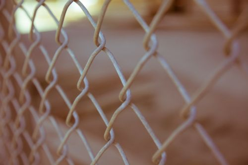 chain link fence fencing