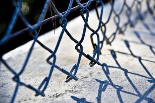 Chain Link Closeup