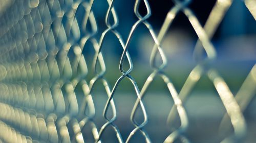 chainlink fence metal