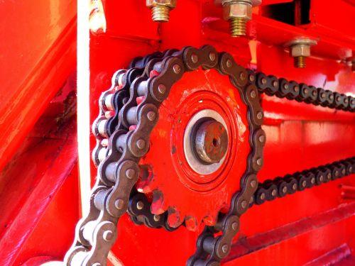 chains pinion links