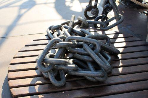 chains ship port