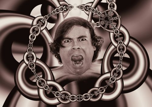 chains caught psyche