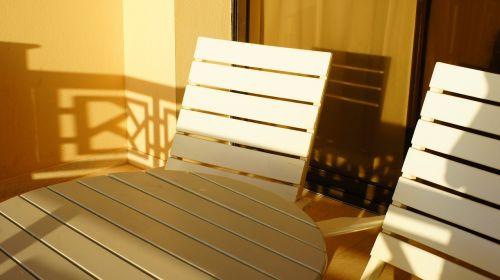 chair sun summer