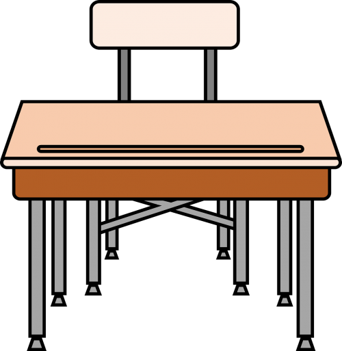chair desk education