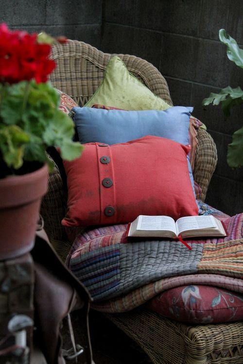 chair pillows bible