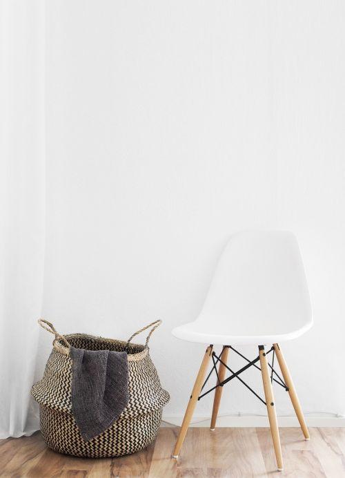 chair wall living room