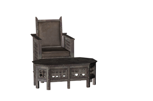 chair table seat