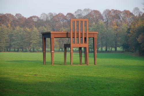 chair table park