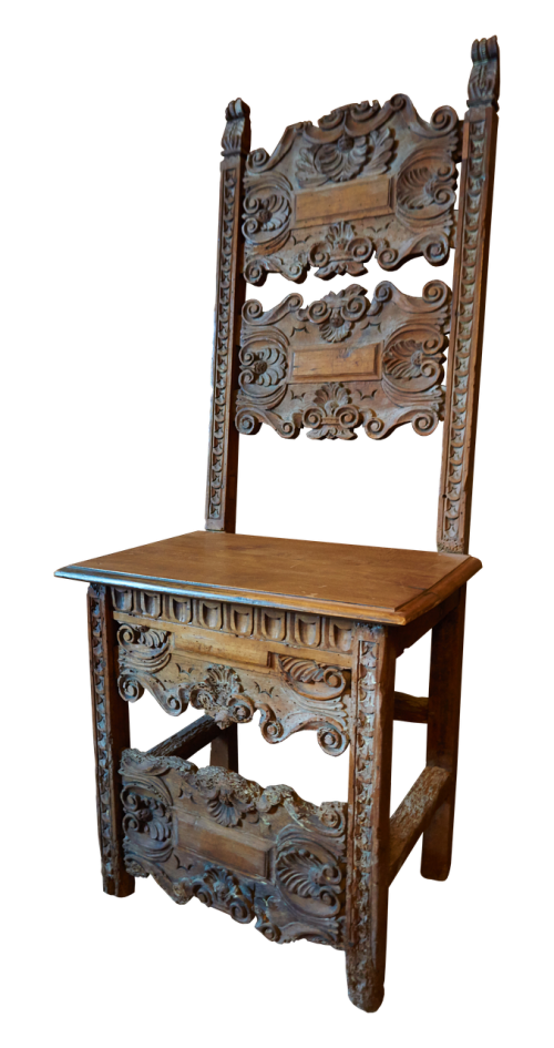 chair wood middle ages