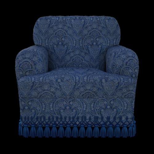 chair  ruffles  seat