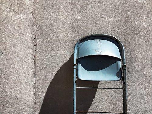 chair  metal  folding