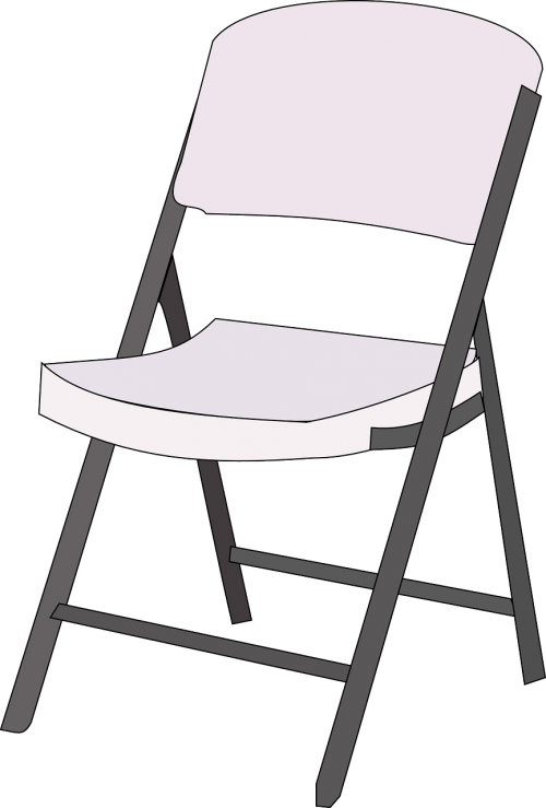chair furniture folded