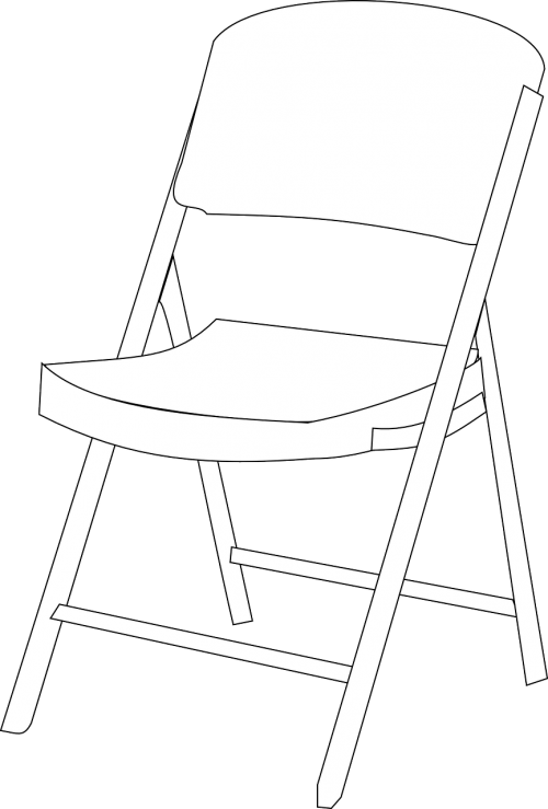 chair furniture steel