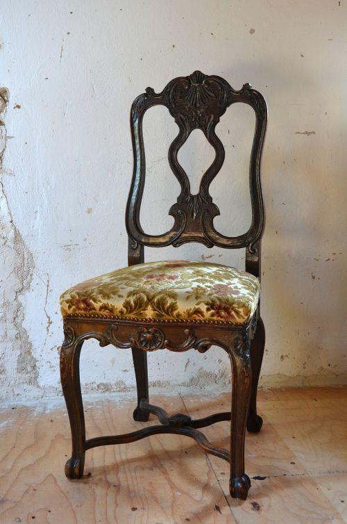 chair baroque furniture