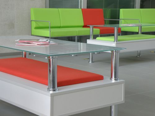 chair tables glass