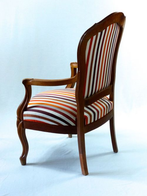 chair louis philippe fabric