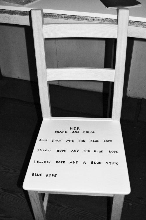 chair furniture writing