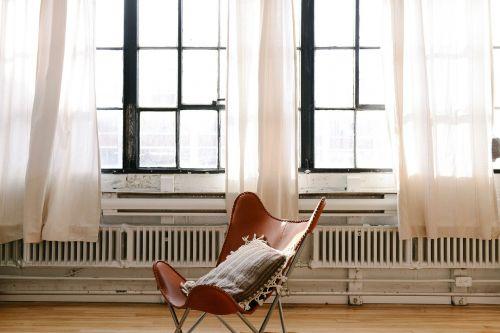 chair pillow hardwood
