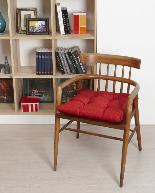 chair cushions bookshelves