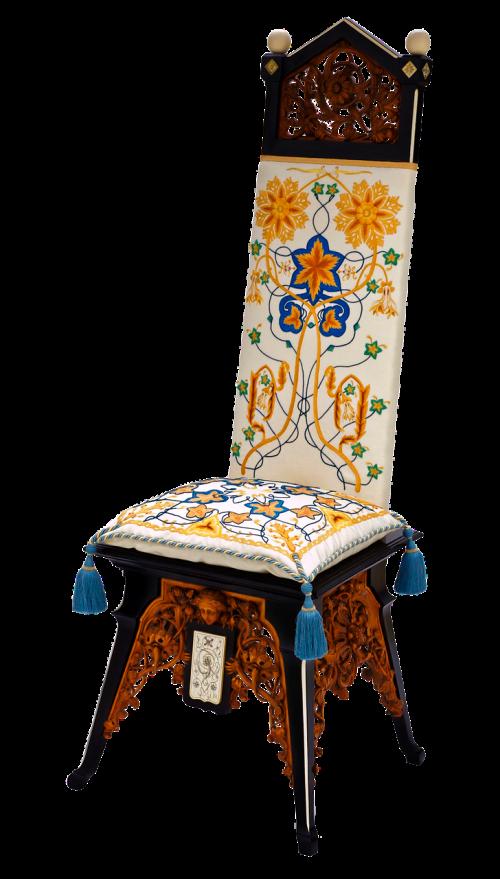 chair furniture ebony