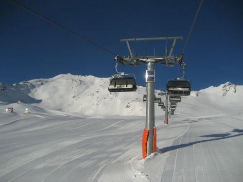 chairlift lift sölden