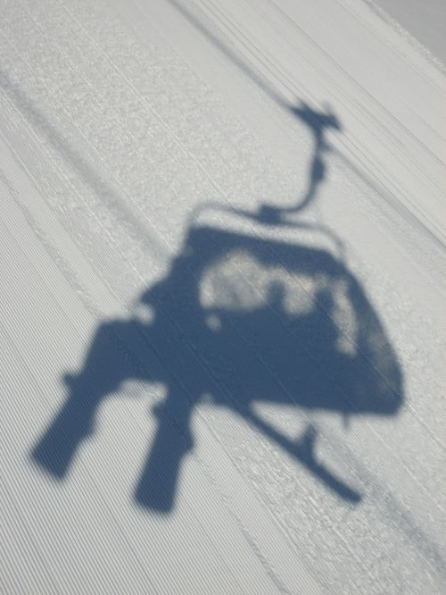 chairlift shadow lift