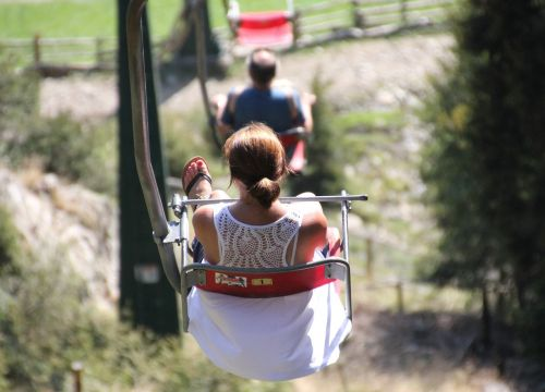 chairlift mountains ski lift
