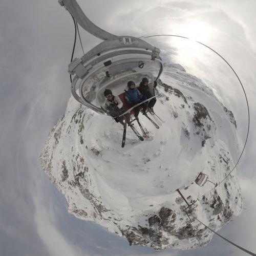 chairlift ski ski chairlift