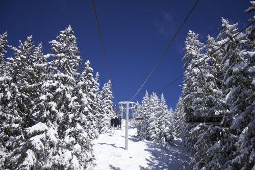 chairlift snow ski
