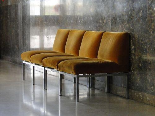 chairs waiting room hall