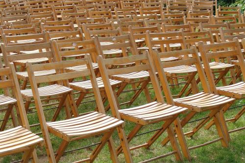 chairs sit reservation