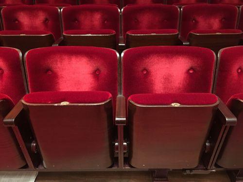 chairs plush cinema