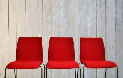 chairs wait sit