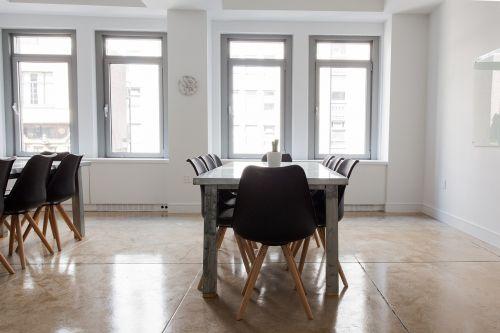 chairs empty indoors