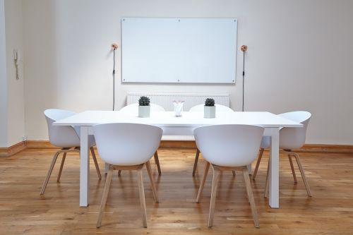chairs empty interior design