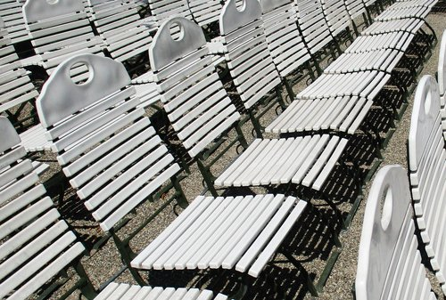 chairs  seating  show