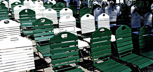 chairs rows of seats seating area