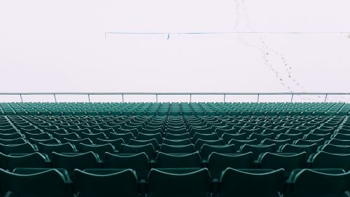 chairs stadium empty